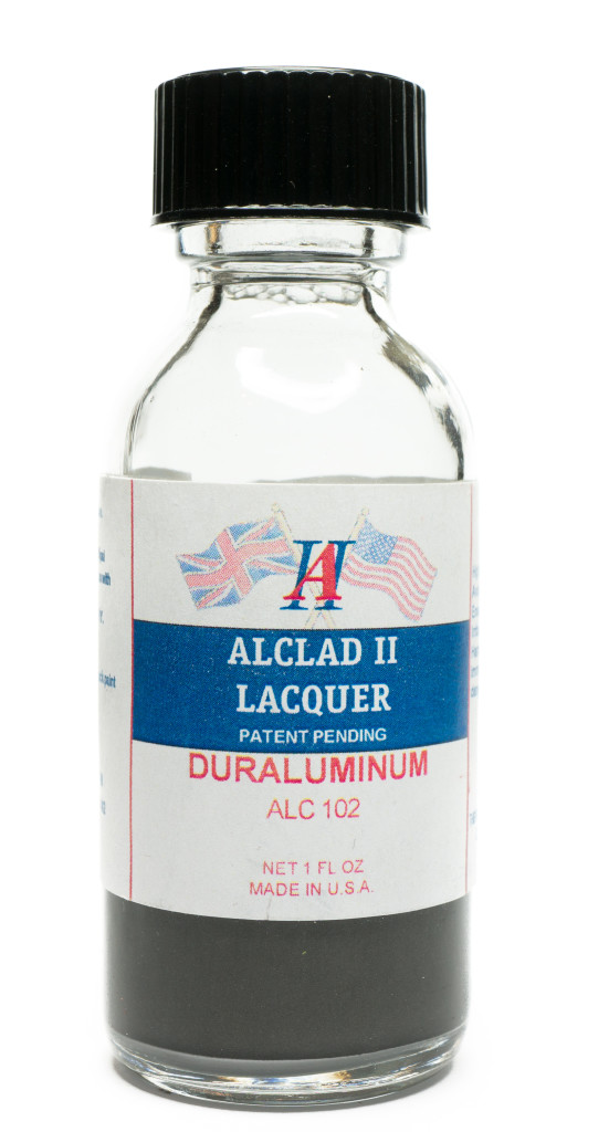 Alclad Duraluminum paint bottle