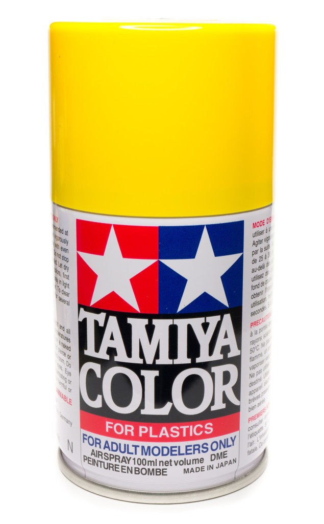 Tamiya Yellow spray can