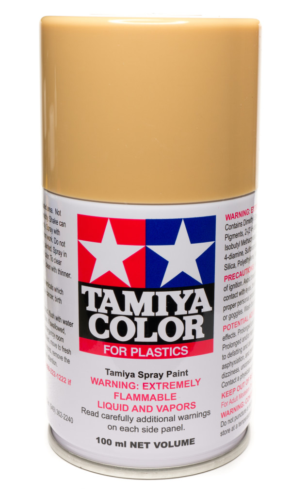 Tamiya Tan spray can
