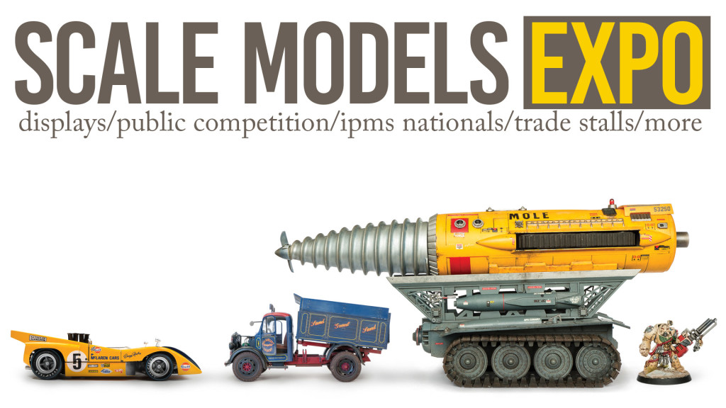 Scale Models Expo banner