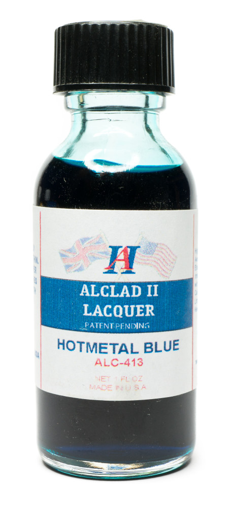 Alcad Hotmetal Blue paint bottle