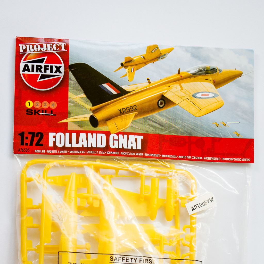 Airfix Folland Gnat kit